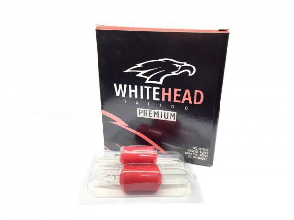 Biqueira Descartável White Head Premium 30MM - Traço - Caixa 20 Unidades