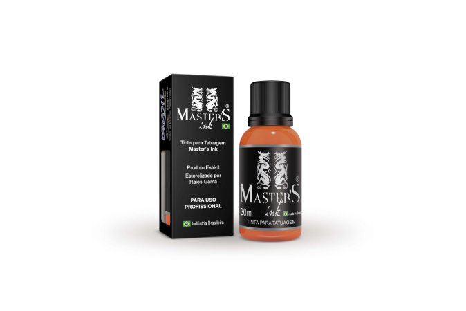 Tinta Master Ink Laranja 30ml