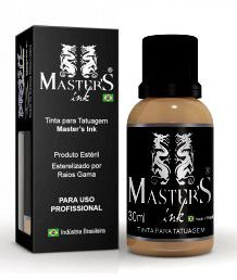 Tinta Master Ink Marrom Claro 30ml