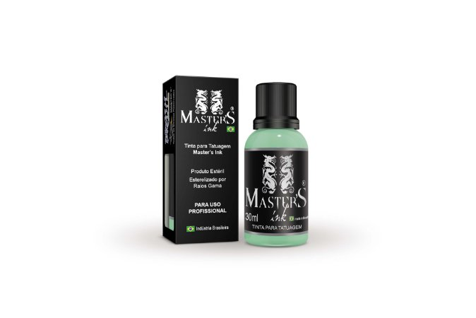 Tinta Master Ink Verde Agua 30ml
