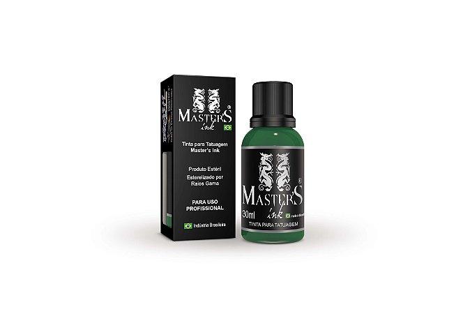 Tinta Master Ink Verde Bandeira 30ml