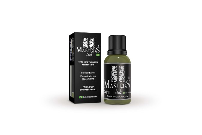 Tinta Master Ink Verde Oliva 30ml