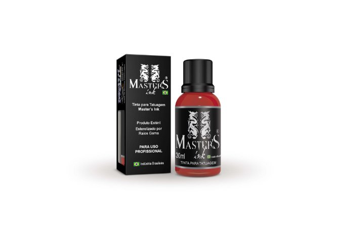 Tinta Master Ink Vermelho Ferrari 30ml