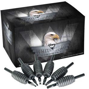Biqueira Descartável White Head 25mm - Pintura Magnum - Caixa C/ 20 Unidades