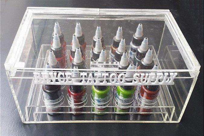 Expositor de Tintas Acrílico P/ 20 tubos