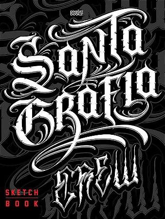 Sketchbook Santa Grafia Crew - Lettering