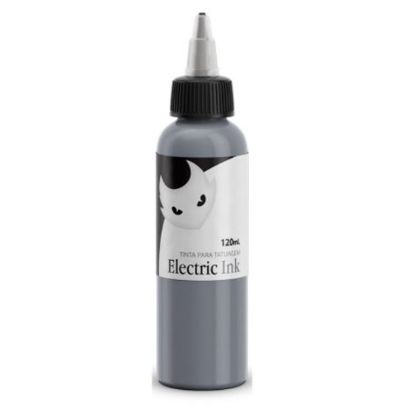 Tinta Electric Ink Cinza Prata - 120ml