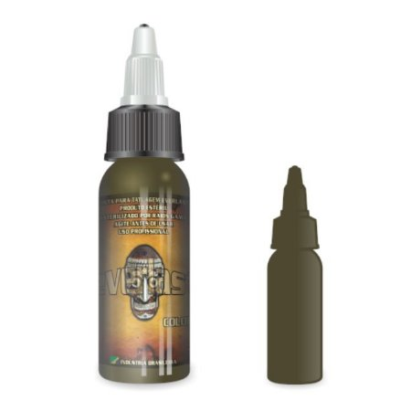 Tinta Everlast Army Green 30ml