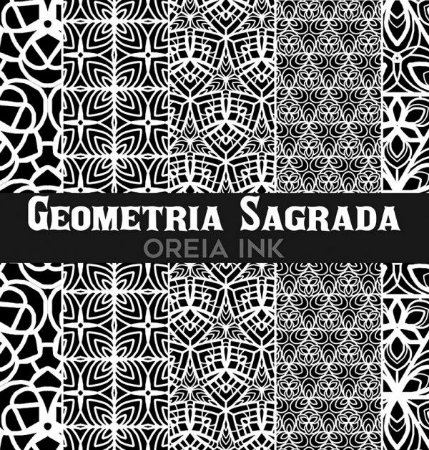 Sketchbook Oreia Ink Vol3 - Geometria Sagrada