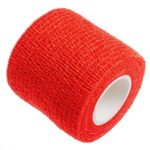 Bandagem Fita Adesiva Auto Aderente - Vermelha