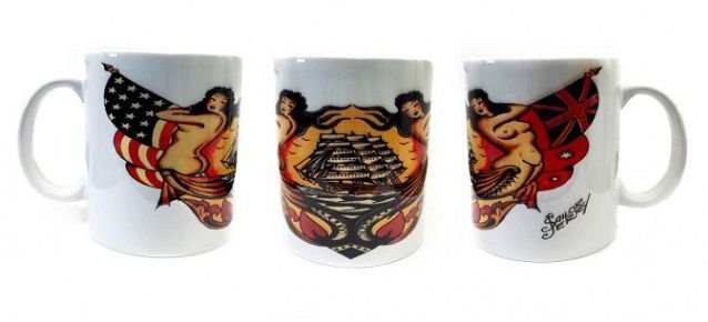 Caneca Porcelana Sailor Jerry - Mod 03