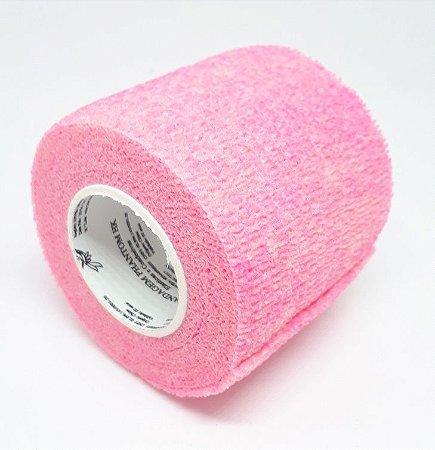 Bandagem Fita Adesiva Auto Aderente - Fluo Pink