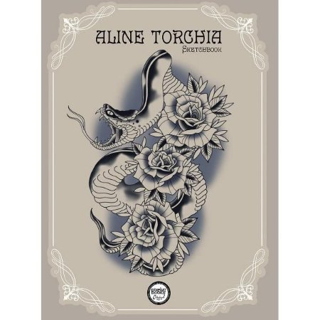 Sketchbook Aline Torchia - Neotradicional