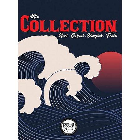 Sketchbook Mix Collection - Aves, Carpas, Dragões E Fênix