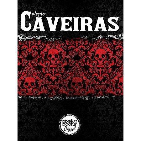 Sketchbook Caveiras - 100 Páginas