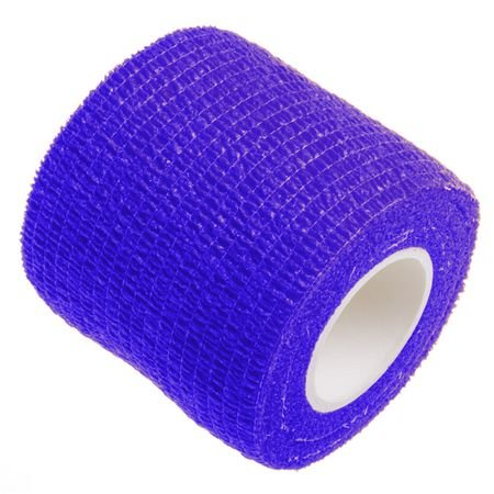 Bandagem Fita Adesiva Auto Aderente - Azul Escuro