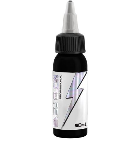 Tinta Easy Glow Jet Black - 30ml