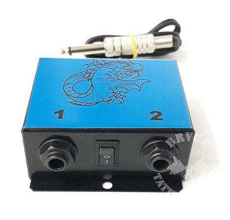 Hub Adaptador New P/ 2 Maquinas - Azul