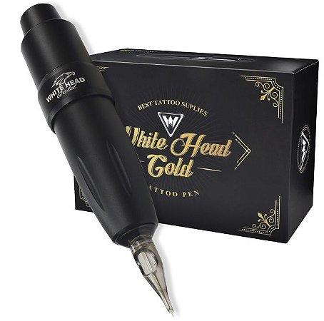 Maquina Pen White Head Gold