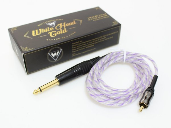 Cabo Rca White Head Gold - Roxo