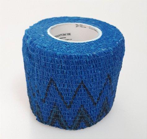 Bandagem Fita Adesiva Auto Aderente - Azul Allow