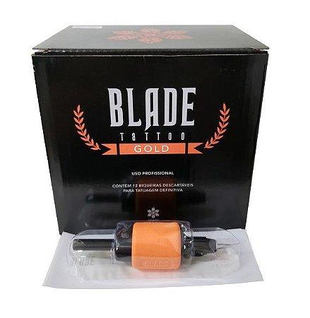 Biqueira Black Blade Gold 30MM - Traço/Bucha - Unidade