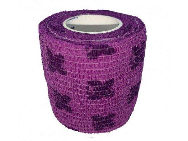 Bandagem Fita Adesiva Auto Aderente - Purple Butterfly