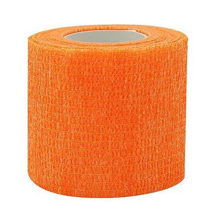 Bandagem Fita Adesiva Auto Aderente - Fluo Orange