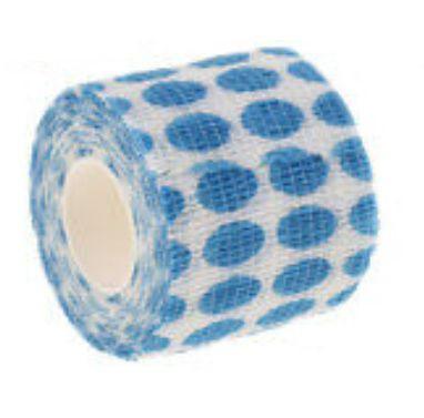Bandagem Fita Adesiva Auto Aderente - Blue Dots