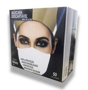 Máscara Descartável Thara - Caixa C/ 50 Unidades