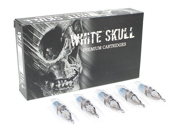 Cartucho White Skull - Magnum Round - Caixa 20 Unidades
