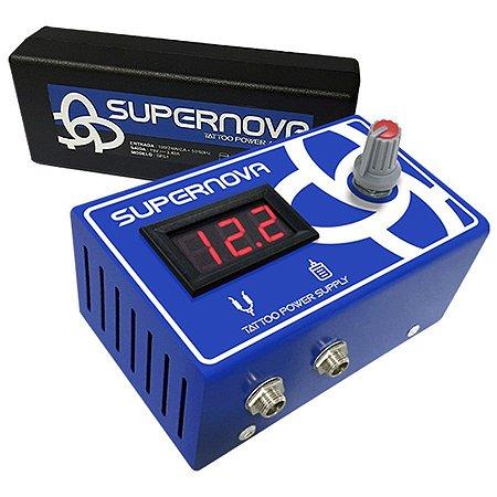 Fonte Digital Supernova - Azul