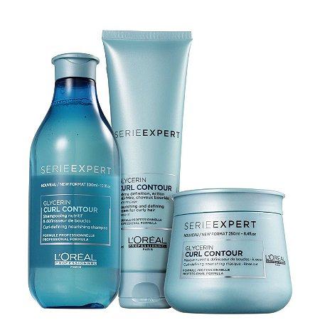 Kit L'Oréal Professionnel Curl Contour (3 Produtos)