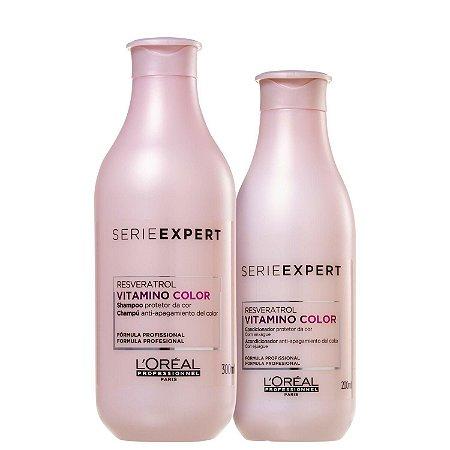 Kit L'Oréal Professionnel Serie Expert Vitamino Color Resveratrol Duo (2 Produtos)