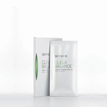 Skeyndor Clear Balance Parches Purificantes - Lenços para Limpeza de Pele 2 X 12 pcs