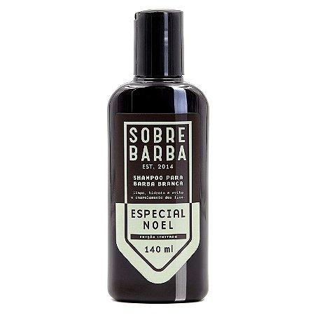 Sobrebarba Especial Noel - Shampoo para Barba Branca 140ml
