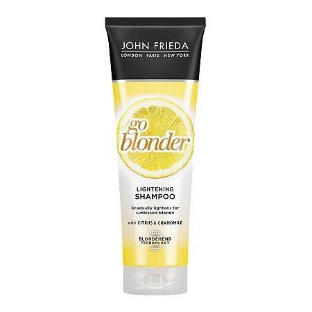 John Frieda Sheer Blonde Go Blonder Lightening - Shampoo 245ml
