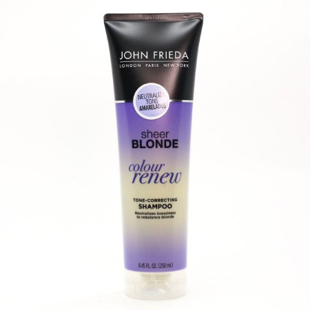 John Frieda Sheer Blonde Color Renew Tone - Shampoo Desamarelador 250ml