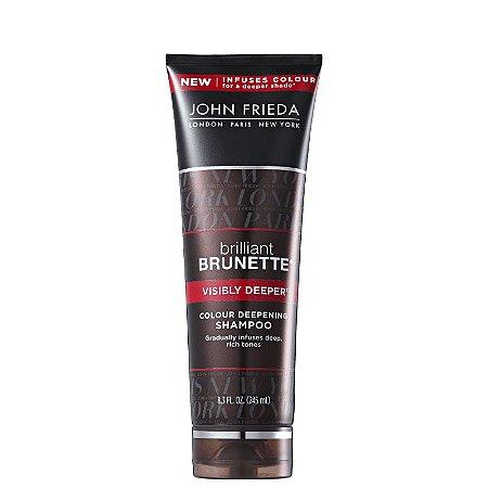 John Frieda Brilliant Brunette Visibly Deeper - Shampoo Tonalizante 245ml