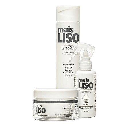Kit About You Mais Liso - Shampoo, Máscara e Leave-in