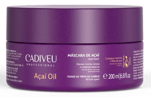 Cadiveu Açaí Oil - Máscara de Açaí 200ml