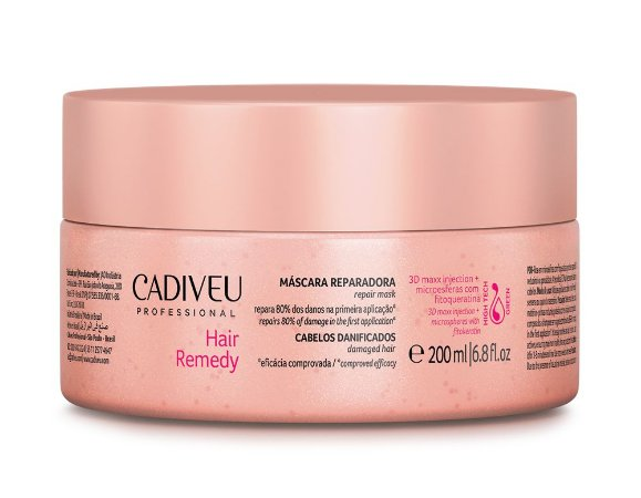 Cadiveu Hair Remedy - Máscara Reparadora 200ml