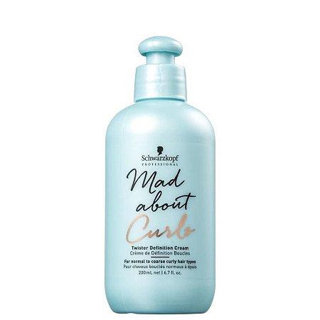 Schwarzkopf Mad About Curls Twister Definition Cream - Leave-In 200ml