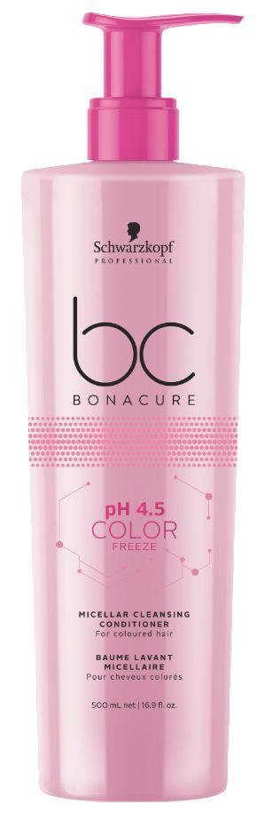 BC pH 4.5 Color Freeze Micellar Cleansing Condicionador SCHWARZKOPF 500ml