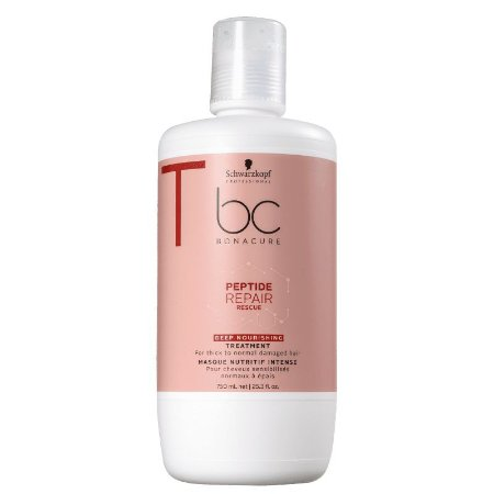 Schwarzkopf BC Bonacure Peptide Repair Rescue Deep Nourishing Treatment - Máscara de Nutrição 750ml