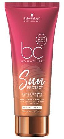 Schwarzkopf BC Sun Protect Shampoo Cabelo e Corpo 200ml