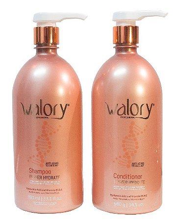 KIT Walory Hydrate Lavatory - Expert Professional - Shampoo + Condicionador 980ml