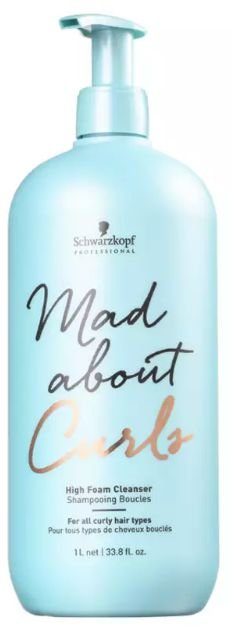 Schwarzkopf Mad About Curls - Shampoo Extra Espuma Sem Sulfato 1000ml