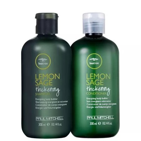 Kit Paul Mitchell Tea Tree Lemon Sage Thickening Shampoo e Condicionador 300ml