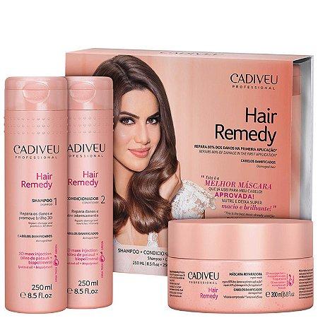 Kit Cadiveu Hair Remedy Reparador (3 Produtos)